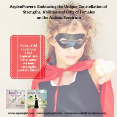 Females with #autism have some serious #SuperPowers #aspiengirl #aspienwoman #nomorefemalesleftbehind #gifts Pls. RT