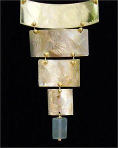 Gold Vermeil Designer Necklace