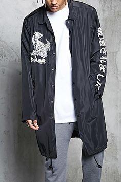Longline Osaka Coach Jacket
