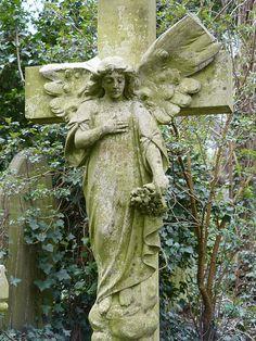 -Abney Park Cemetery, Stoke Newington, London