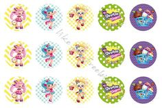 Freebies: Shopkins Shoppies bottlecap images