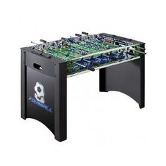 New-Foosball-Table-48-in-Soccer-Game-Recreation-Man-Cave-Arcade-Fussball-Hockey