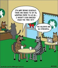 Today on The Bent Pinky - Comics by Scott Metzger Cat Jokes, Funny Cat Memes, Funny Cartoons, Cats Humor, Cartoon Humor, Cat Puns, Pet Memes, Memes Humor, Funny Gifs