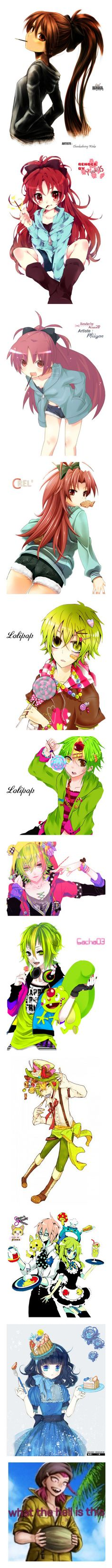 """""""{ anime characters with food }"""" by toby-senpai ❤ liked on Polyvore featuring pmmm, anime, art, happy tree friends, render, vocaloid, filler, tokyo ghoul, fillers and marvel"""
