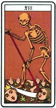 Il significato de La Morte è prevalentemente positivo e deve essere vista come una figura che porta al cambiamento e alla trasformazione.