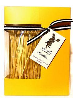 Napastäk Capellini Pasta handcrafted in the heart of Napa Valley
