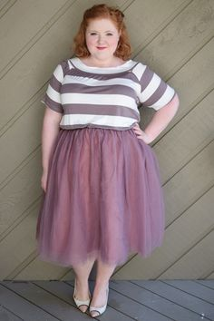 7387a03b5b8cb Plus Size Clothing for Women - Society+ Grace Tutu - Mauve (Sizes 1X - 6X