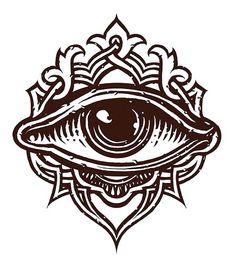 Collection of Third Eye Drawing Simbolos Tattoo, Hand Tattoo, Body Art Tattoos, Tattoo Drawings, Tribal Tattoos, Cool Tattoos, 3rd Eye Tattoo, Eye Tattoos, Tatoos