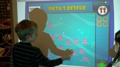 Okta's Rescue: Oh, no! Okta and his friends need help. Help rescue them by transporting them to a safe ocean. How fast can you transport the Oktas? Use your counting skills to save as many as you can before the timer runs out.