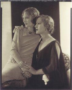Edward Steichen- Dolores et Helen Costello, Hollywood, 1928