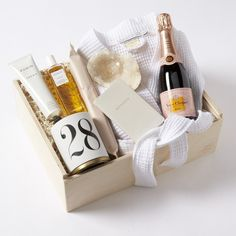 Indulgence Spa Gift Box with Champagne