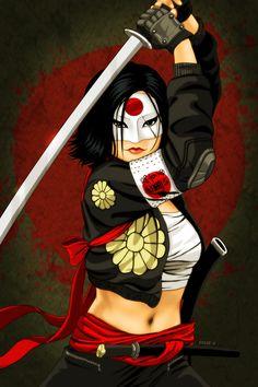 Katana - Suicide Squad by EddieHolly on DeviantArt