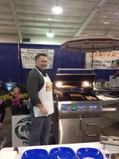 This is from one of our Home/Garden shows. We were featuring the Fire Magic Grills. AWESOME GRILLS! Garden Show, Home And Garden, Stone Masonry, Outdoor Kitchens, Grills, Fireplaces, Magic, Awesome, Fireplace Set