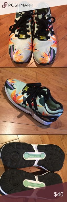 Adidas Torsion Bird in Paradise sneaks These are men's shoes, equivalent to a female 7.5 adidas Shoes Sneakers