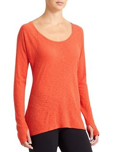 Daily Top - Dreamed up by our own lofty ideas on soft breathability and inspired by your ready-in-15 lifestyle, this is the ultimate, wear-it-all-day-every-day top.