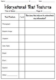 nonfiction graphic organizer for kindergarten - Google Search ...