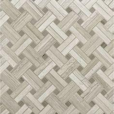 Athens Silver Cream Mosaics   ANN SACKS Tile & Stone