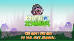Math Vs Zombies - Math Games Grade K - 5 by TapToLearn Software