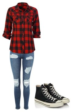 Not so mom by sipe on Polyvore featuring Full Tilt, Topshop and Converse