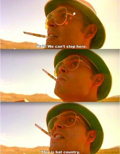 Fear And loathing in Las Vegas, Johnny Depp, Benicio del Toro Series Movies, Film Movie, Movies Showing, Movies And Tv Shows, Las Vegas Quotes, Fear And Loathing, Hunter S Thompson, About Time Movie, Film Quotes
