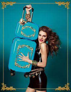 Anna Dello Russo's travel accessories for H