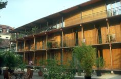 Apartment building, Hebelstrasse, Basel, 1987-88