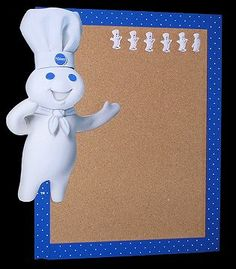 Pillsbury Doughboy Bulletin Board