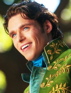 The Prince from Cinderella(2015) played by Richard Madden. So Cute