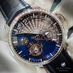 Greubel Forsey Tourbillon 24 Seconds Contemporain: splendid gem-setting for those who appreciate a bit of sparkle