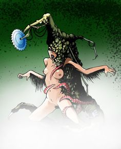 Swamp Thing _Gorky 17 by Pino44io