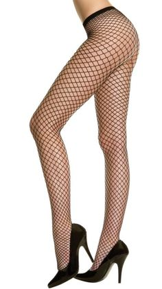 Plus Size Seamless Diamond Net Pantyhose [9030Q] - $6.99 : Mystic Crypt, the most unique, hard to find items at ghoulishly great prices!