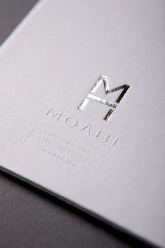 MOABI / #silver #foil #emboss / Sociedad Anonima