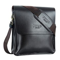 Yuncai Business Leather Laptop Single Shoulder BagYC-N014 – USD $ 14.99