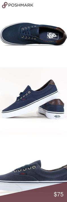 f57cb3880be Vans Era 59 Plaid Dress Blues Men s Low Shoes 10.5 New in box Vans Era 59