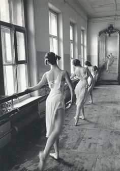 Bolshoi Ballet School, Moscow, 1958. Photo: Cornell Capa/Magnum Photos
