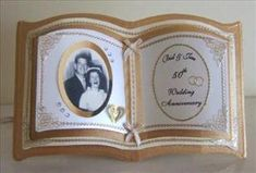 Golden Wedding Anniversary Bookatrix