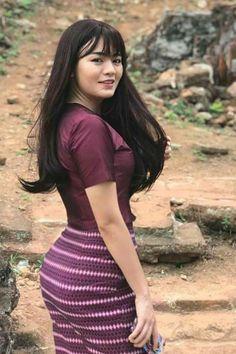 Beautiful Asian Women, Beautiful Celebrities, Burmese Girls, Myanmar Women, Asian Model Girl, Asian Hotties, Sexy Curves, Hottest Models, Sexy Outfits