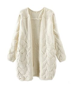 #knitted #oversized #cardigan <3
