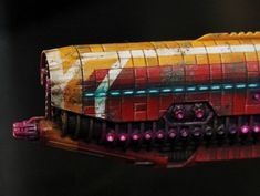 [BFG] Karun's log : painting spaceships (from Firestorm Armada)