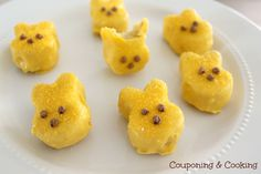 Couponing & Cooking: Homemade Peep Cakes
