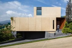 ASP builds Cumbres House using compressed earth blocks formed on-site