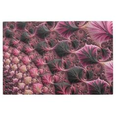 Pink Fractal Metal Print  $167.59  by Kaleiope_Studio  - custom gift idea