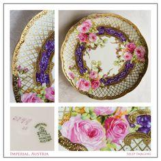 Imperial PSL Austria Princess china plate