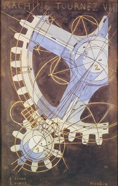 Francis Picabia, Machines turn quickly, 1916-1918, ARS/Art Resource