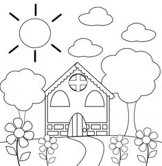 Happy Spring Coloring Page To Print For Kids | Adult Coloring Pages ...