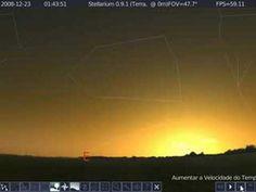 Alinhamento da estrela Sirius e cinturão de Orion - YouTube