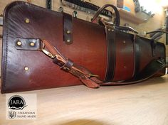 Gun Holster, Leather Holster, Holsters, Leather Bags, Rifle Bag, Gun Cases, Gun Storage, Leather Working, Leather Craft