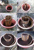 DIY Mini Spiral Garden DIY Projects | UsefulDIY.com