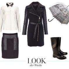 Unser Look der Woche lässt euch nicht im Regen stehen! Die Produkte findet ihr direkt auf kleidoo.de