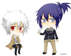 No. 6 Shion + Nezumi by sayukino.deviantart.com on @DeviantArt
